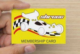 SHRCCC Membership Card Held in Hand